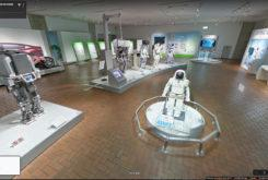 Honda Collection Hall museo virtual ASIMO street view