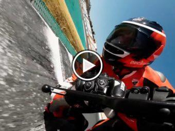 Ducati Superleggera V4 video on board PortimaoPlay