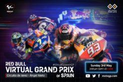 GP virtual Jerez MotoGP Moto2 Moto3