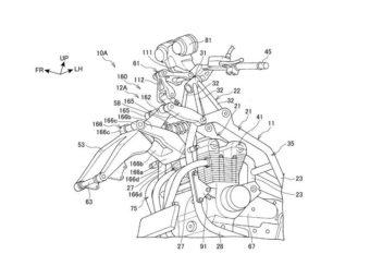Honda CB1100F hossack