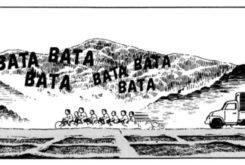 Honda Origins Soichiro dibujos animados