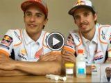 Marc Marquez Alex Marquez hidrogel video