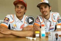 Marc Marquez Alex Marquez hidrogel video