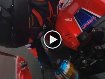 Marc Marquez video Honda CBR1000RR R Fireblade SP 2020 01Play
