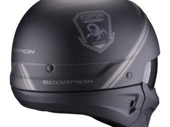 Scorpion EXO Combat EVO unborn rear copia