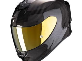 Scorpion EXO R1 Carbon Air negro brillo