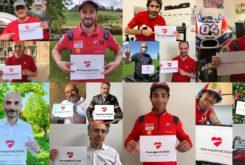 Ducati colecta coronavirus #raceagainstcovid 1