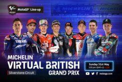 MotoGP carrera virtual Silverstone
