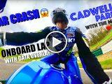 Suzuki GSX R1000R Sylvain Guintoli video on board Cadwell Park