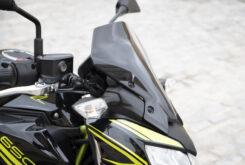 Kawasaki Z650 detalles cupula 2020