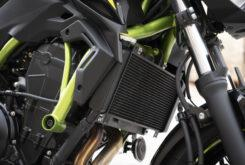 Kawasaki Z650 detalles radiador 2020