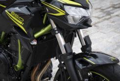 Kawasaki Z650 detalles suspensiones 2020