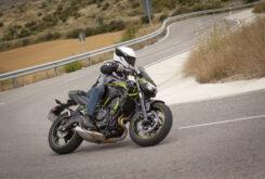 Prueba Kawasaki Z650 202015