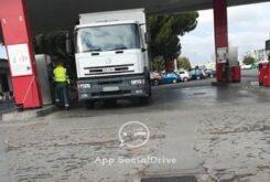 DGT camion camuflado