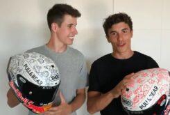 Marc Marquez Alex Marquez casco benefico