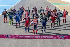 MotoGP 2020 foto familia
