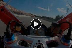 Video Zarco Ducati Panigale V4 S Montmelo
