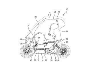 BMW C1 2021 patentes filtradas
