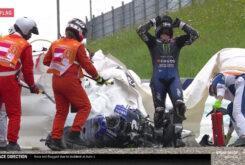 Caída Maverick Viñales MotoGP Estiria 20201