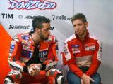 Casey Stoner Andrea Dovizioso Ducati MotoGP