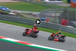 Danilo Petrucci Aleix Espargaro MotoGP Austria 2020 play