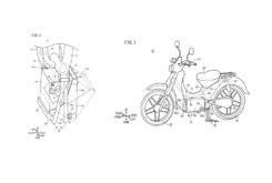 Honda Super cub electrica patentes filtradas