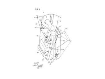 Honda Supercub electrica patentes filtradas 2