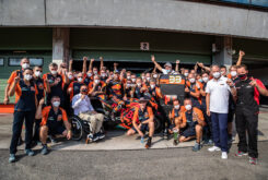 KTM celebracion victoria Brad Binder MotoGP