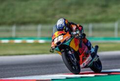 Raul Fernandez pole Moto3 Brno 2020