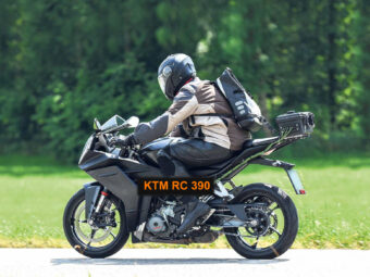 ktm rc 390 2021 fotos espia