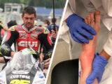 Cal Crutchlow lesion tobillo MotoGP Montmelo