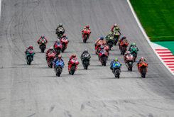 Carreras MotoGP bandera roja