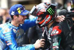 Joan Mir Fabio Quartararo MotoGP Montmelo 2020