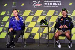 Lin Jarvis Valentino Rossi rueda prensa MotoGP Montmelo