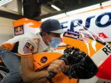 Marc Marquez regreso paddock MotoGP Montmelo (4)