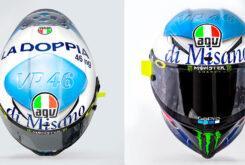 Valentino Rossi casco Misano MotoGP 2020