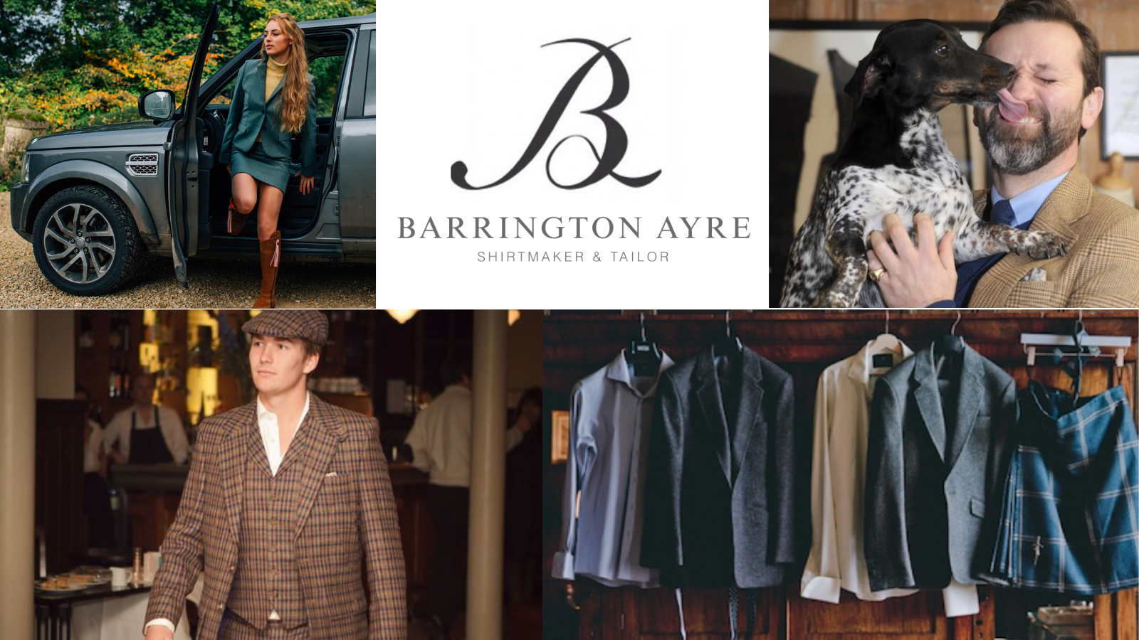 Muddy Matches partner tweed tailors Barrington Ayre for made-to-measure offer
