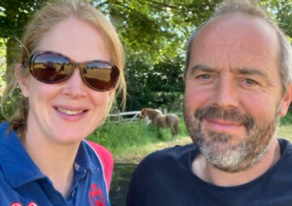 Meeting Roger brings positive change for Joanna