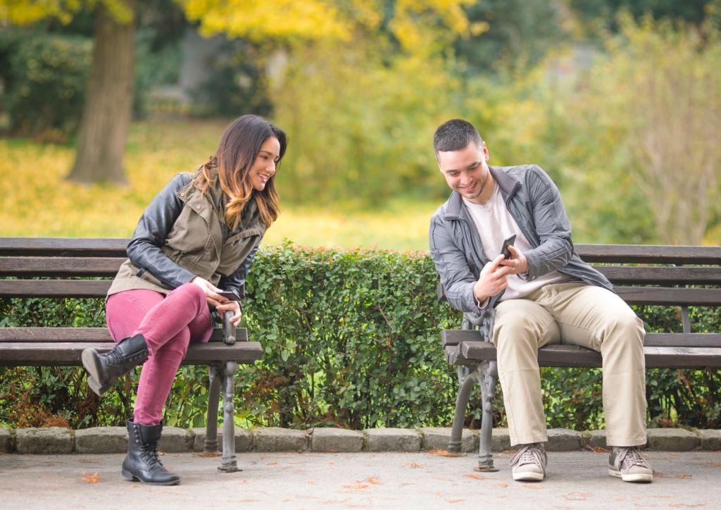 Swapping details whilst online dating is a waiting game