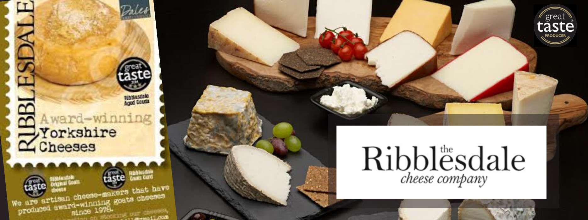 Ribblesdale Cheese - Award Winning Goat/Sheep Cheese