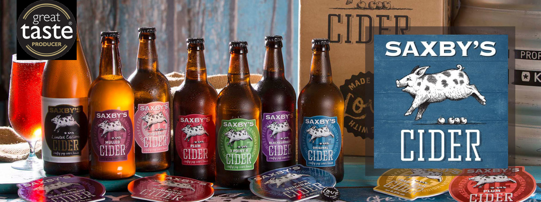 Saxby's Cider case of 12