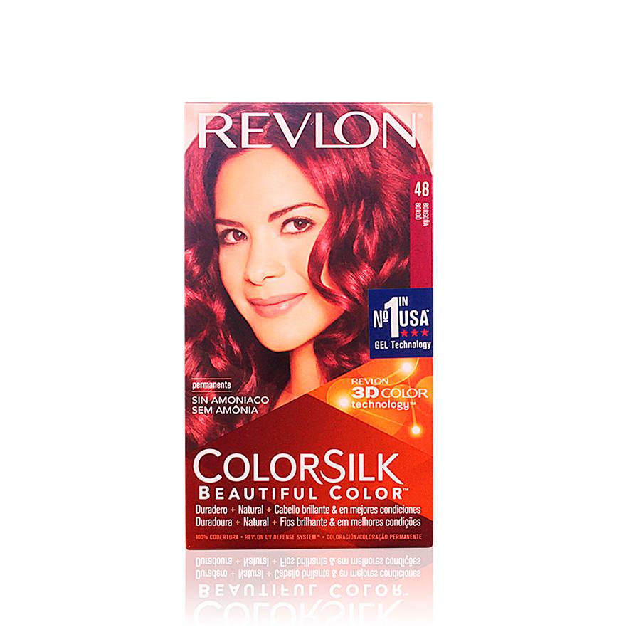 Coloração Permanente Revlon® Borgonha   Nº 48