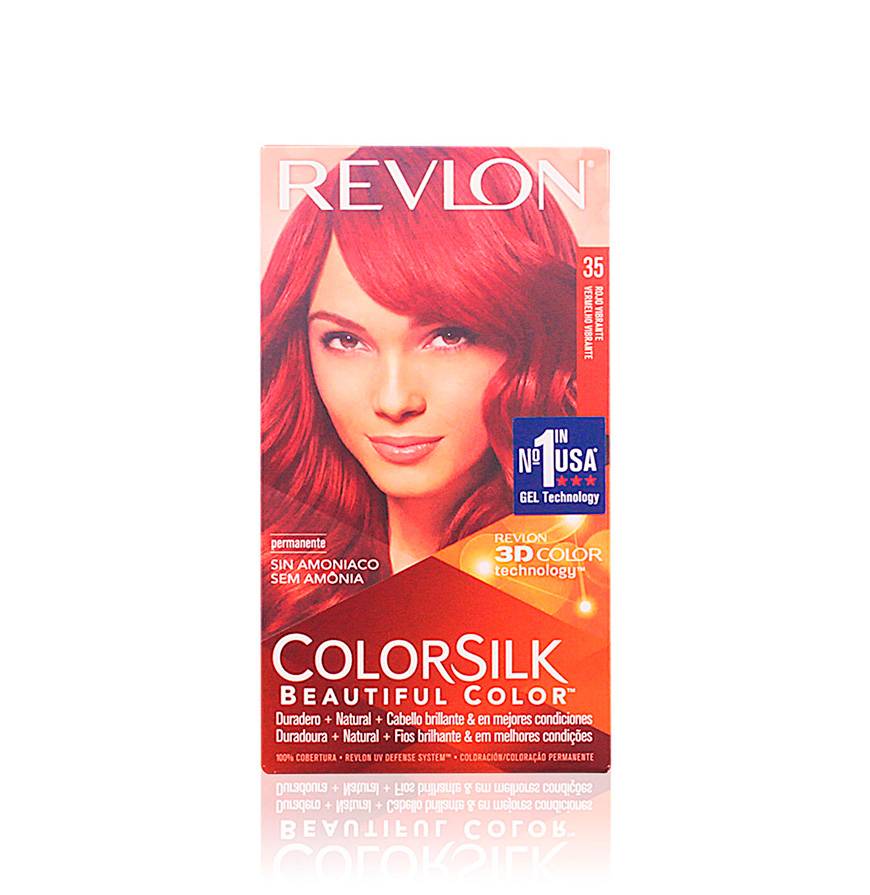 Coloração Permanente Revlon® Vermelho Vibrante   Nº 35