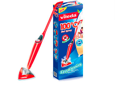 Mopa Limpeza Vileda® 100° Hot Spray