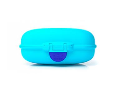 Caixa p/ Lanche   Azul