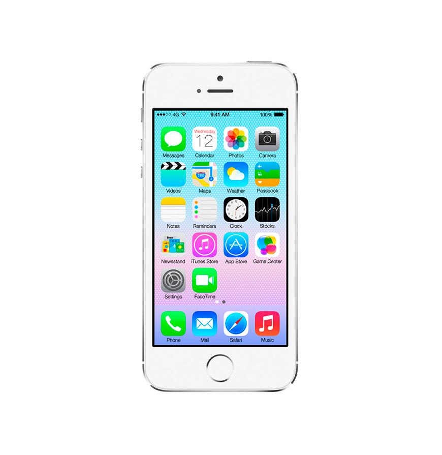 iPhone Apple® 5S 16GB Silver   Recondicionado A+