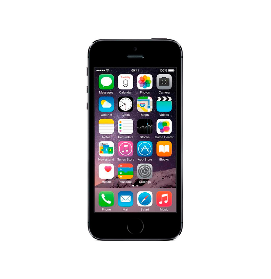 iPhone® 5S 16GB Space Grey | Recondicionado A+