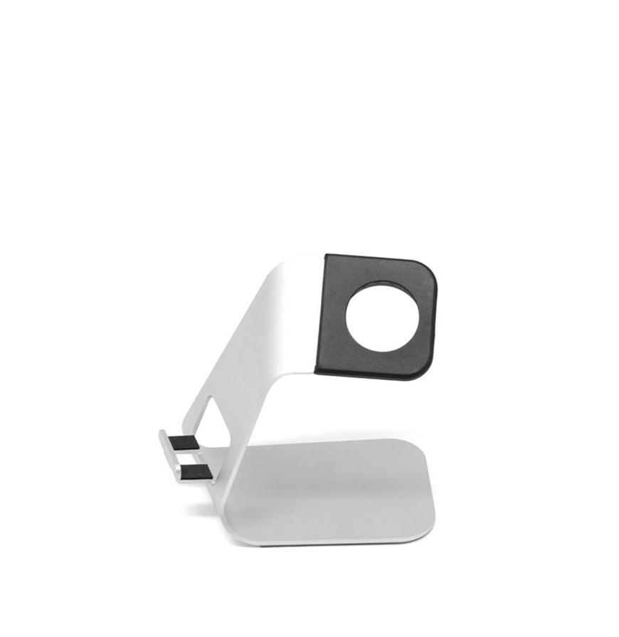 Suporte de Alumínio para Apple Watch e iPhone
