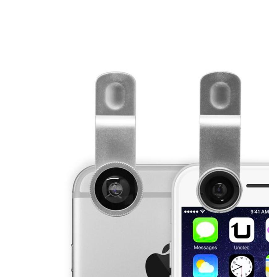 Lentes Clip Pack 3x | Para Smartphone