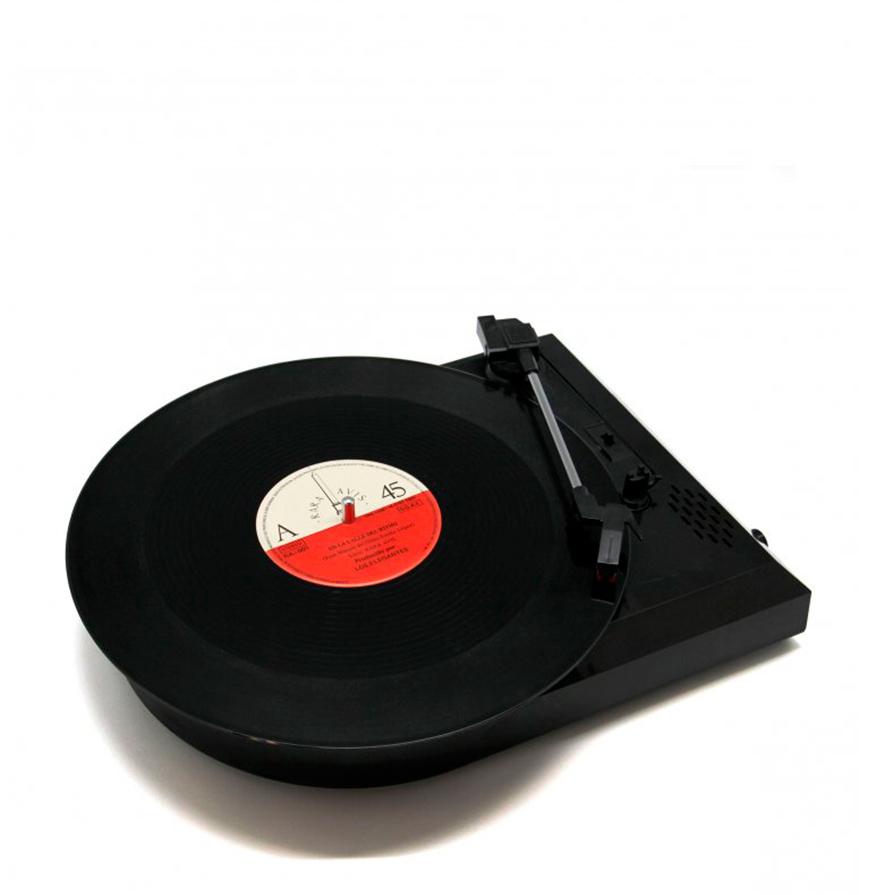 Leitor Gira-Discos & Conversor de Mp3 c/ 3 Velocidades
